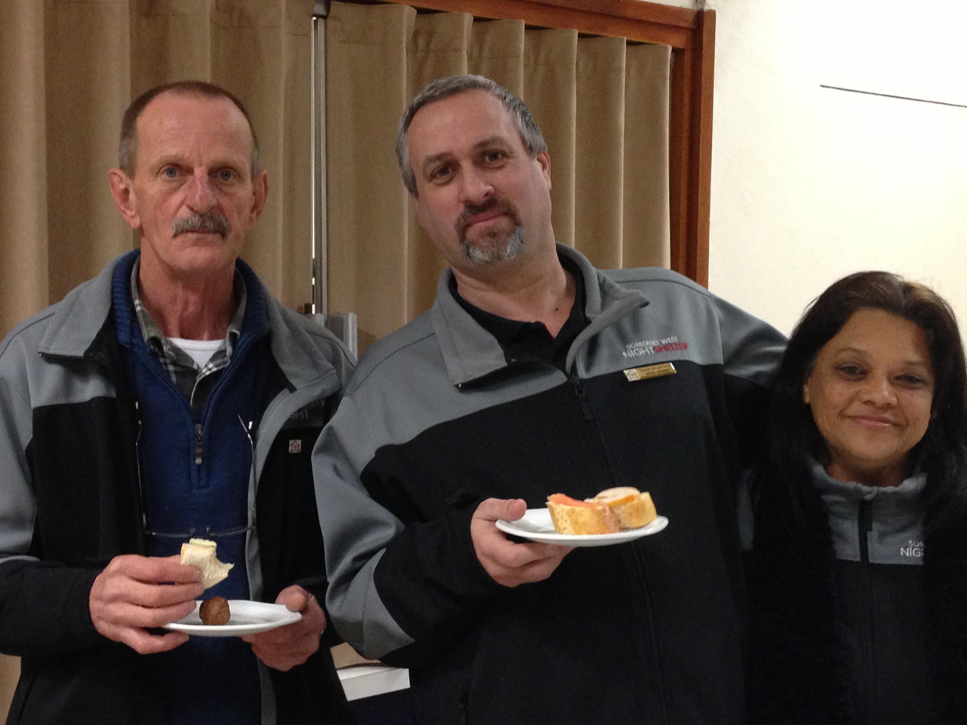 Shelter AGM - Nicolas Van Rooyen, Wayne Spammer & Nazleah Simmons